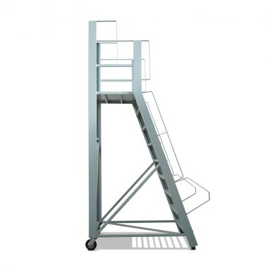 Escalera Metallo de 8 escalones