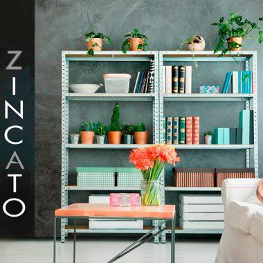 Estantería Galvanizada Zincato Mediana