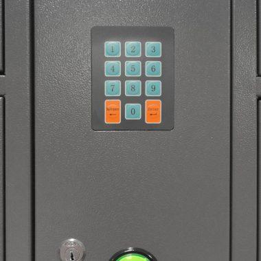 Guardabultos Electrónico de 20 puertas