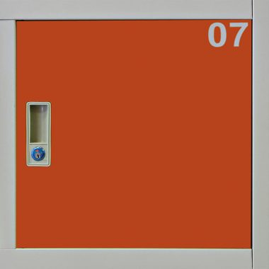 Guardabultos Metálico de 12 puertas